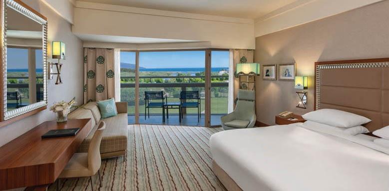 Hilton Dalaman, sea view room