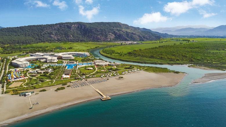Hilton Dalaman, aerial view