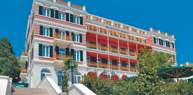 Hilton Imperial Dubrovnik, facade