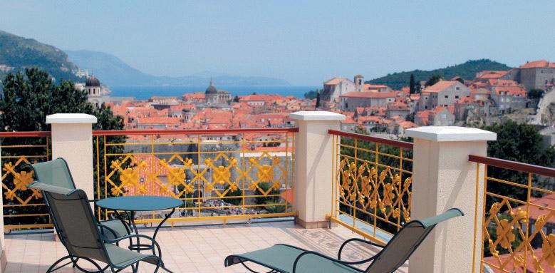 Hilton Imperial Dubrovnik, terrace