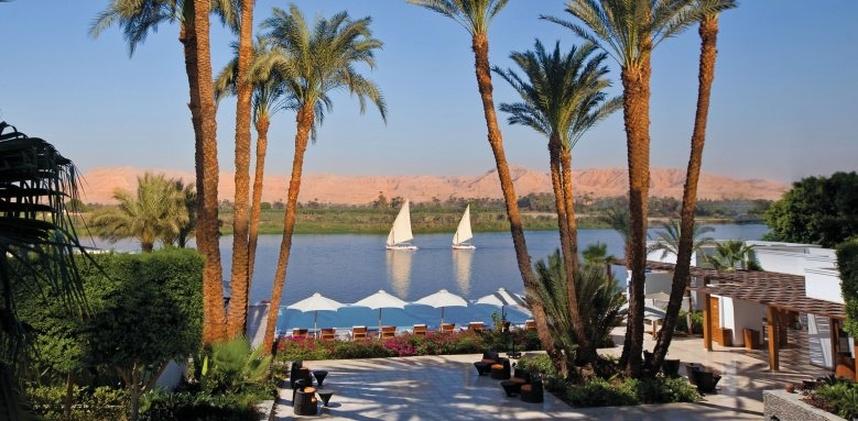 Hilton Luxor Resort & Spa, spa river view