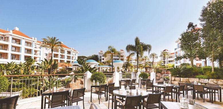 Hilton Vilamoura, rubi bar terrace