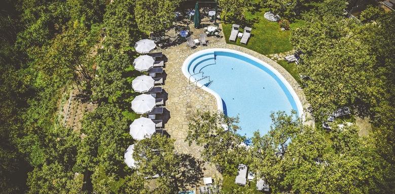 Hotel Antiche Mura, pool overview