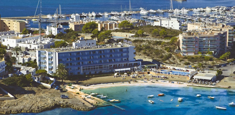 Hotel Argos, aerial view