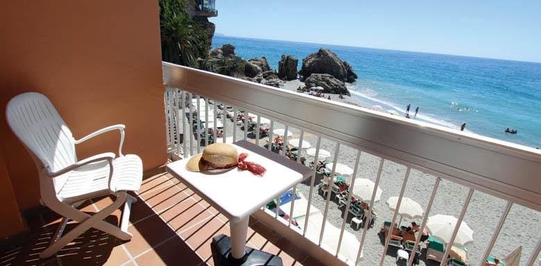 Hotel Balcon de Europa, sea view balcony