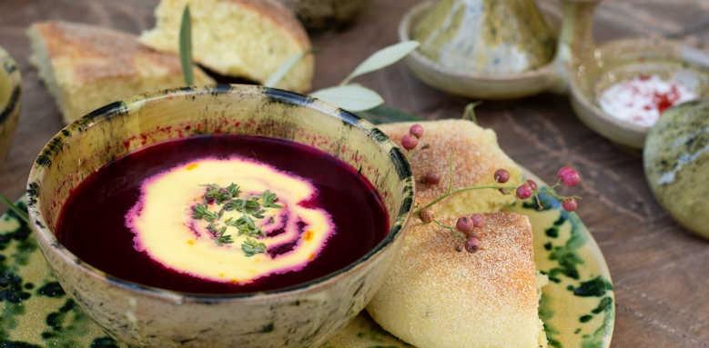 Kasbah Bab Ourika, food