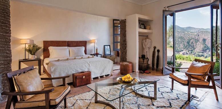 Kasbah Bab Ourika, garden deluxe room