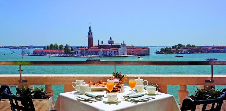 Hotel Danieli, terrace restaurant