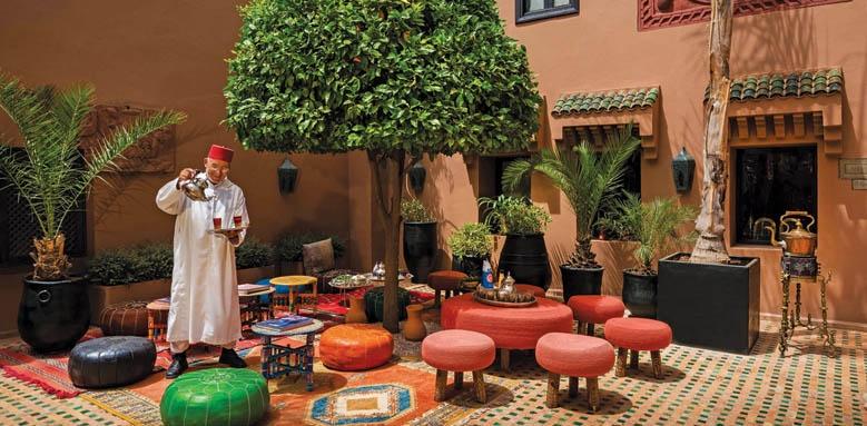 Kasbah Tamadot, Tea Courtyard