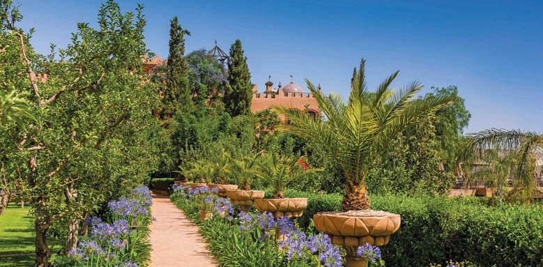 Kasbah Tamadot, Gardens