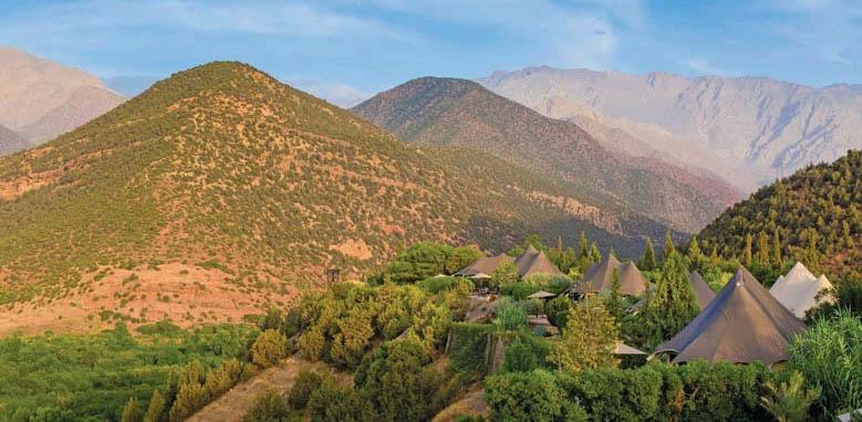 Kasbah Tamadot, Exterior View