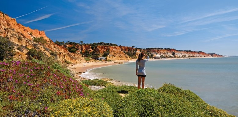 Porto Bay Falesia, beach view