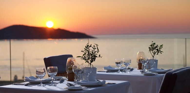 Porto Elounda Golf & Spa Resort, Nafsika Restaurant