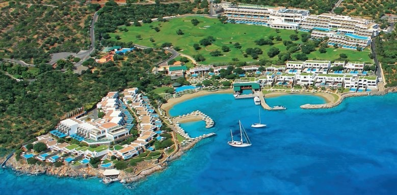 Porto Elounda Golf & Spa Resort, aerial view