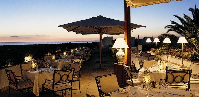 Hotel Quinta do Lago, Brisa terrace seaview sunset