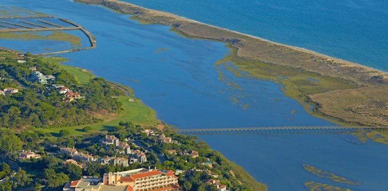 Hotel Quinta Do Lago, aerial shot