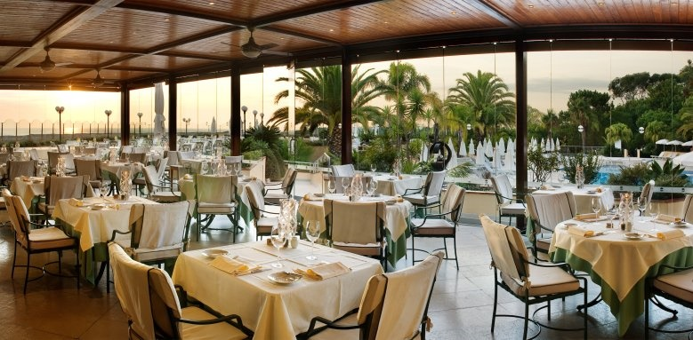 Hotel Quinta Do Lago, winter terrace