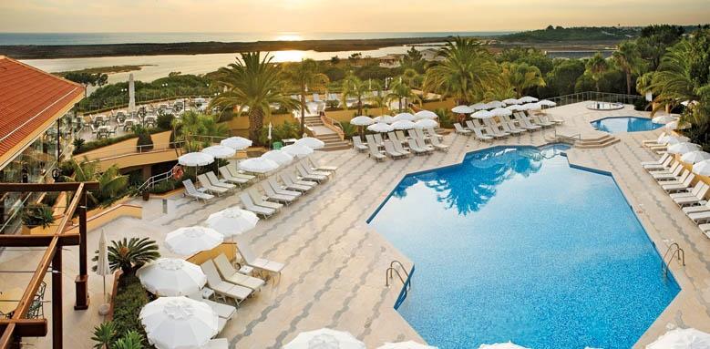 Hotel Quinta Do Lago, sunset pool