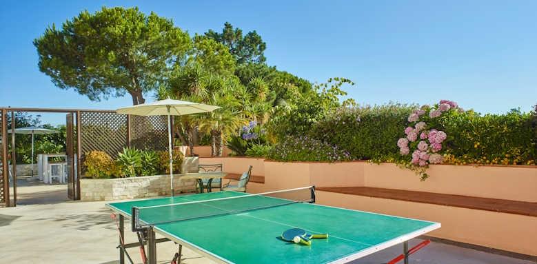 Hotel Quinta Do Lago, table tennis kids