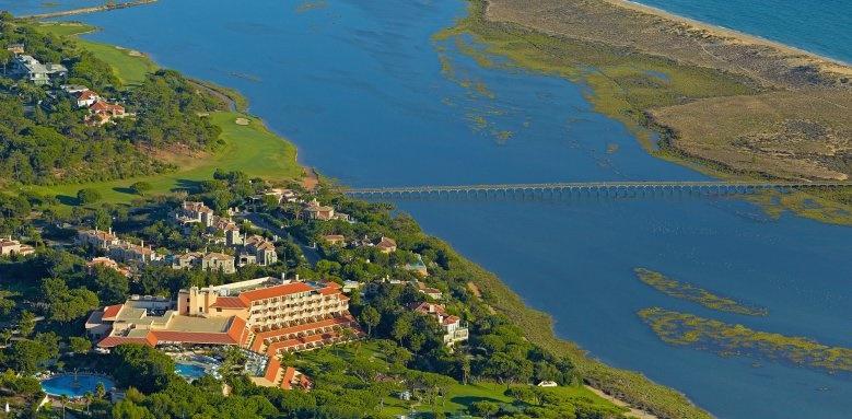 Hotel Quinta do Lago, aerial view