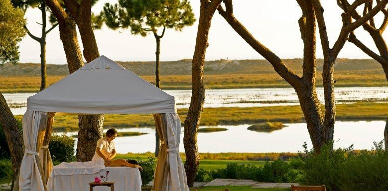 Hotel Quinta do Lago, massage in garden