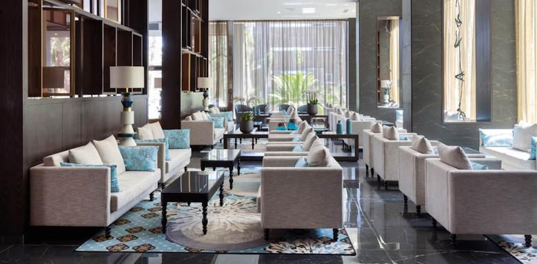 riu palace oasis, lobby lounge