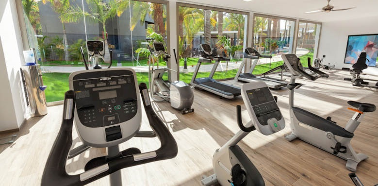 riu palace oasis, gym