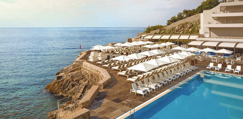 Rixos Libertas, pool and view