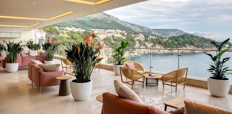 Rixos Premium, lobby terrace