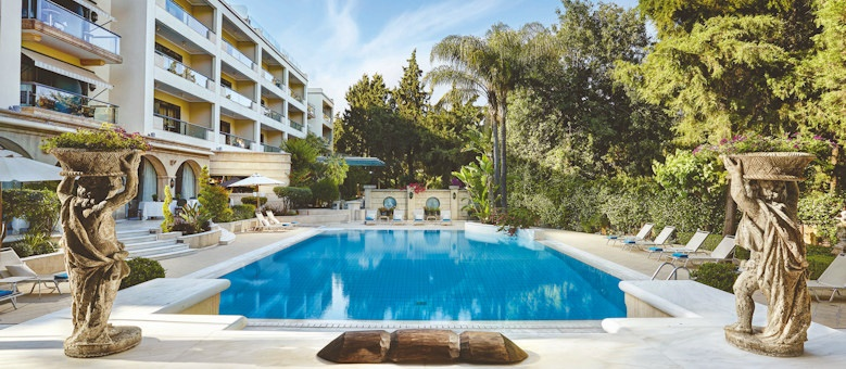 rodos park suites, pool