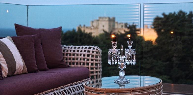Rodos Park Suites & Spa, Galaxy roof bar