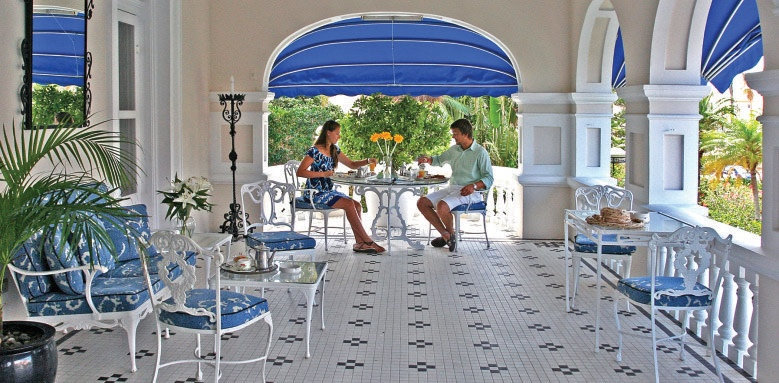 Rosedon Hotel, front porch
