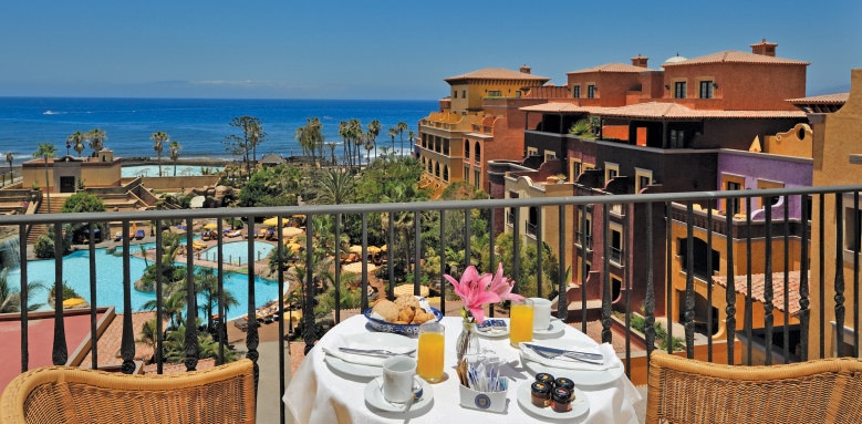 Villa Cortes, balcony view