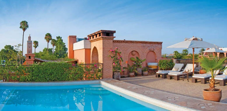 Villa Des Orangers, rooftop pool