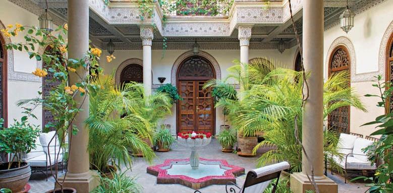 Villa Des Orangers, courtyard