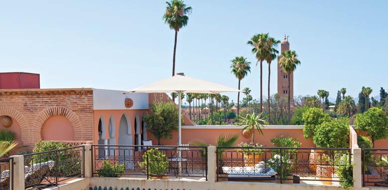Villa Des Orangers, terraces