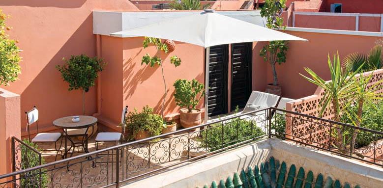 Villa Des Orangers, private terrace