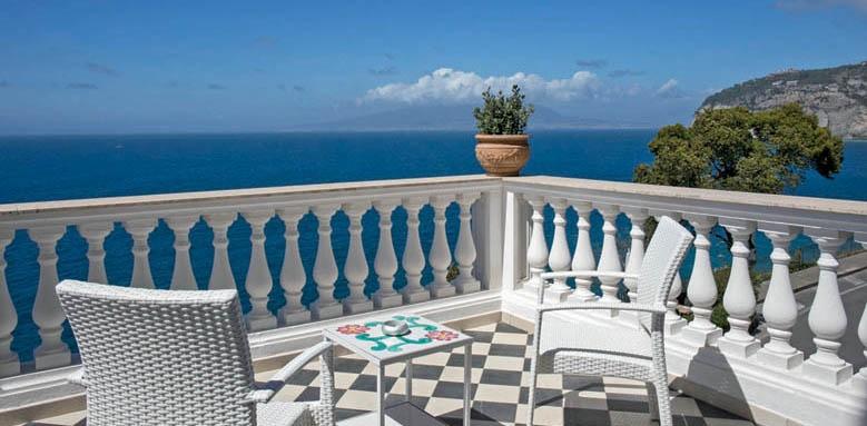 Villa Garden Hotel, deluxe room terrace