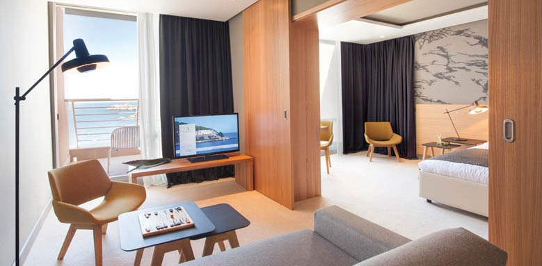 Hotel Dubrovnik Palace, junior suite living room