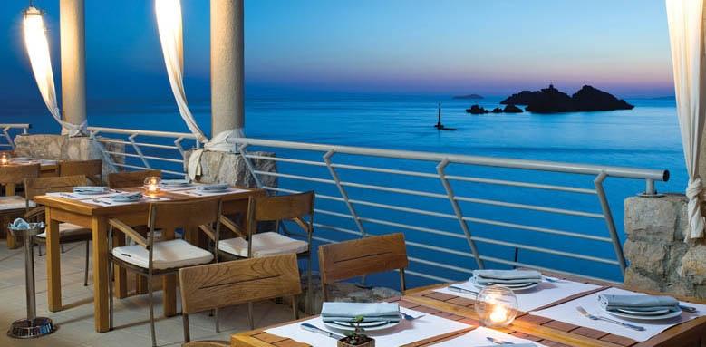 Hotel Dubrovnik Palace, Maslina terrace