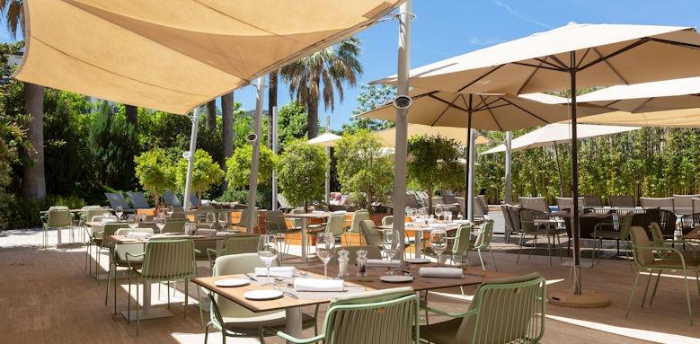Aimia Hotel, Restaurant Terrace