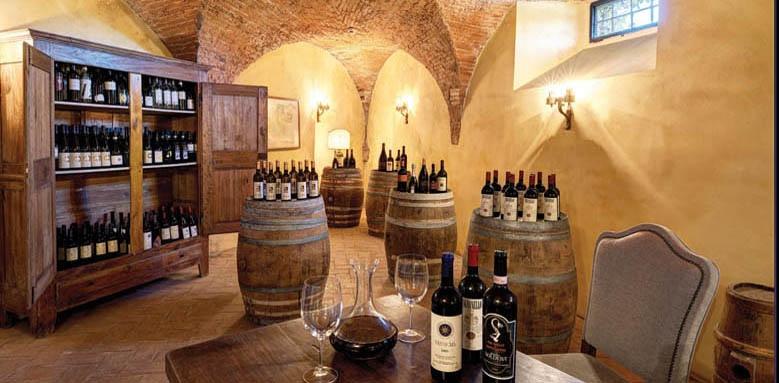 Villa La Massa, wine cellar