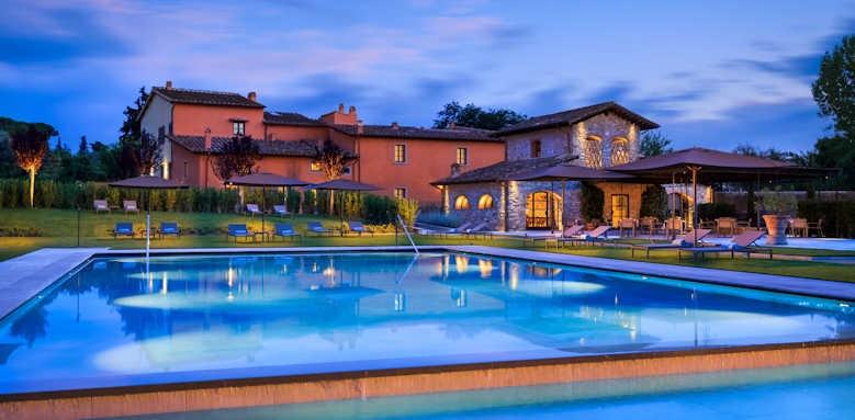 Villa La Massa, Sunset