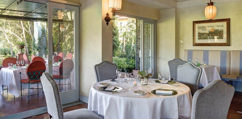 Villa La Massa, il verrocchio restaurant