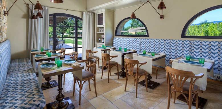 Villa La Massa, restaurant