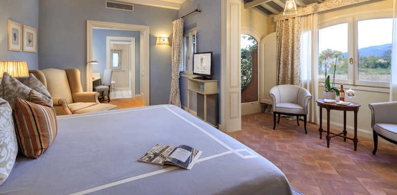 Villa La Massa, guestroom Parco Suite