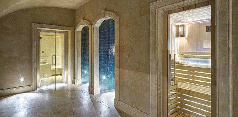 Villa La Massa, Turkish bath and sauna