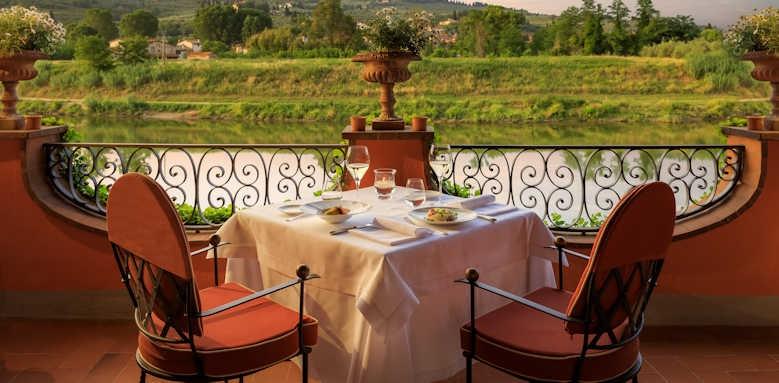 Villa La Massa, Verrocchio Restaurant