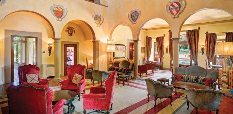 Villa La Massa, lobby