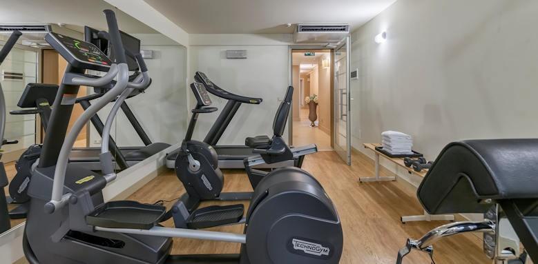 Villarosa hotel, fitness room
